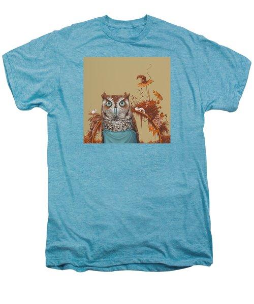 Northern Screech Owl Men's Premium T-Shirt
