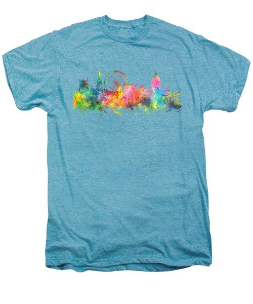 Nottingham  England Skyline Men's Premium T-Shirt
