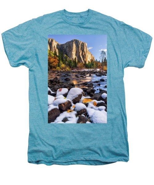 November Morning Men's Premium T-Shirt by Anthony Michael Bonafede