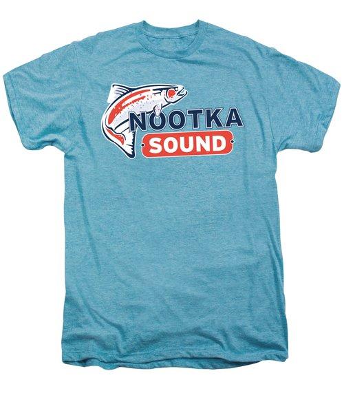 Ns Logo #2 Men's Premium T-Shirt by Nootka Sound