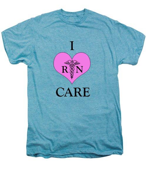 Nursing I Care -  Pink Men's Premium T-Shirt