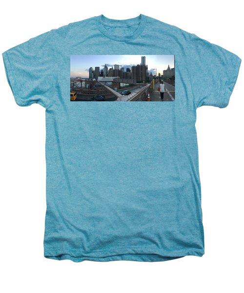 NYC Men's Premium T-Shirt by Ashley Torres