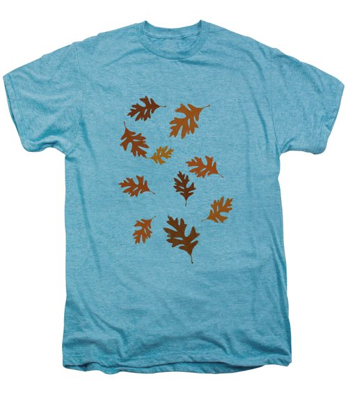 Oak Leaves Art Men's Premium T-Shirt