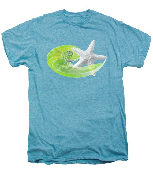 Ocean Fresh Men's Premium T-Shirt by Gill Billington