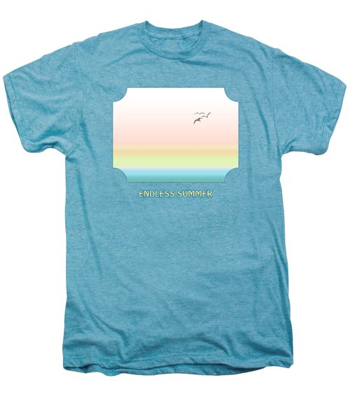 Endless Summer Men's Premium T-Shirt by Gill Billington