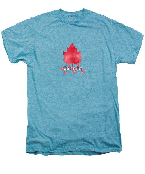 Oh Canada Men's Premium T-Shirt by Kathleen Sartoris