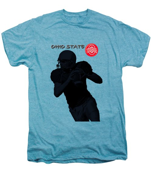 Ohio State Football Men's Premium T-Shirt by David Dehner