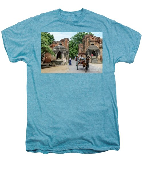 Old Bagan Men's Premium T-Shirt by Werner Padarin