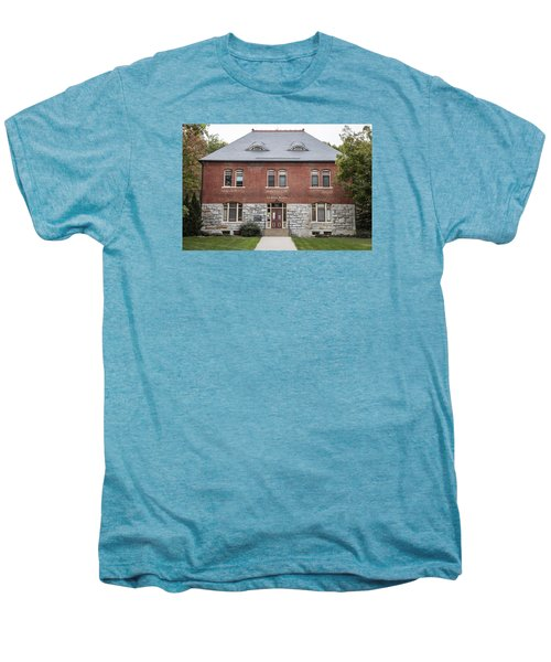 Old Botany Building Penn State  Men's Premium T-Shirt by John McGraw