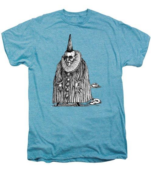 Old Clown Men's Premium T-Shirt by Akiko Okabe