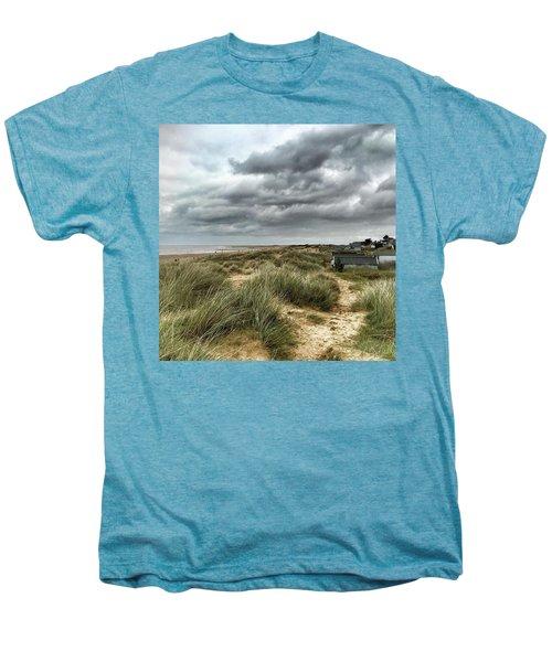 Old Hunstanton Beach, North #norfolk Men's Premium T-Shirt