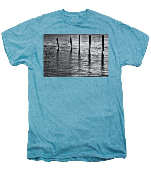 Men's Premium T-Shirt featuring the photograph Old Jetty - S by Werner Padarin