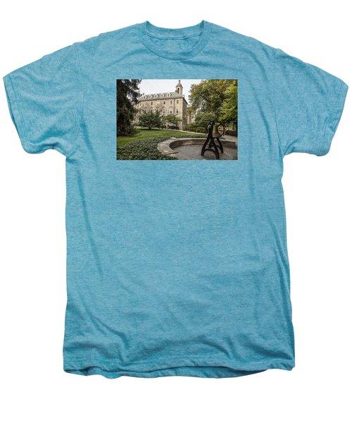 Old Main Penn State Bell  Men's Premium T-Shirt by John McGraw