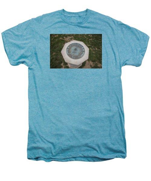Old Main Statue  Men's Premium T-Shirt by John McGraw