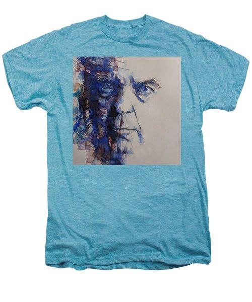 Old Man - Neil Young  Men's Premium T-Shirt