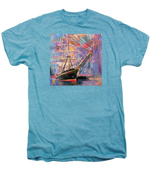 Old Ship 226 4 Men's Premium T-Shirt by Mawra Tahreem