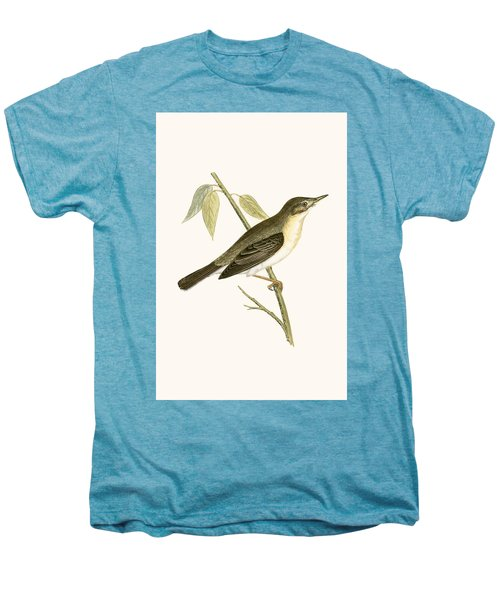 Olivaceous Warbler Men's Premium T-Shirt by English School