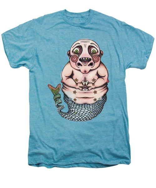 On The Pigs Back Men's Premium T-Shirt by Kelly Jade King
