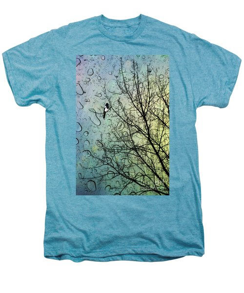 One For Sorrow Men's Premium T-Shirt by John Edwards