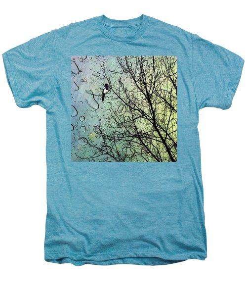 One For Sorrow #nurseryrhyme Men's Premium T-Shirt