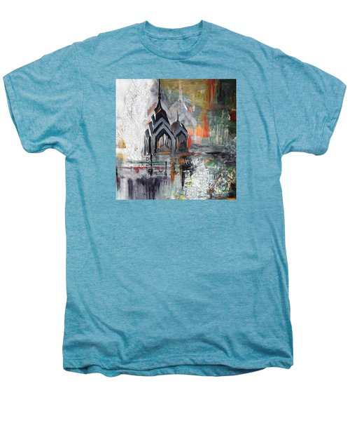 One Liberty Place And Two Liberty Place 229 3 Men's Premium T-Shirt by Mawra Tahreem