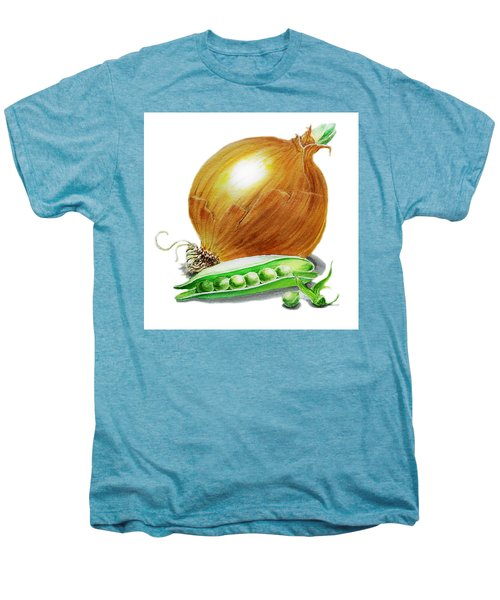 Onion And Peas Men's Premium T-Shirt by Irina Sztukowski