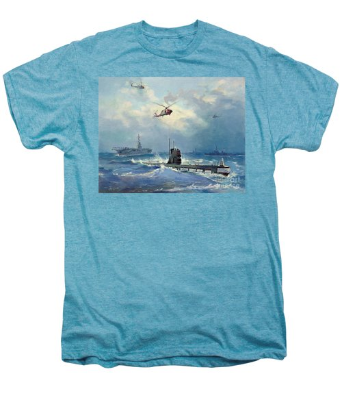 Operation Kama Men's Premium T-Shirt by Valentin Alexandrovich Pechatin