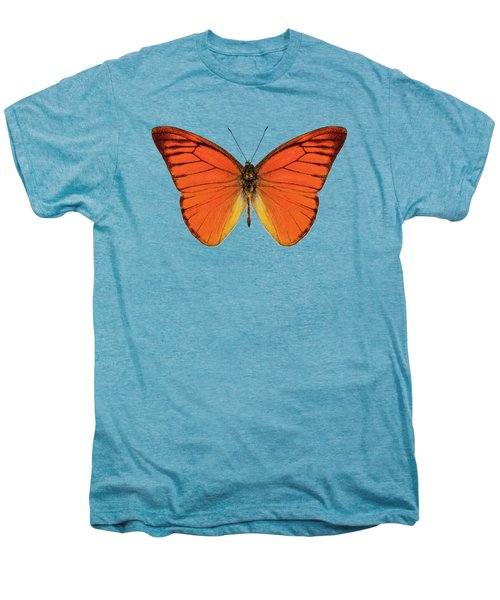 Orange Butterfly Species Appias Nero Neronis  Men's Premium T-Shirt
