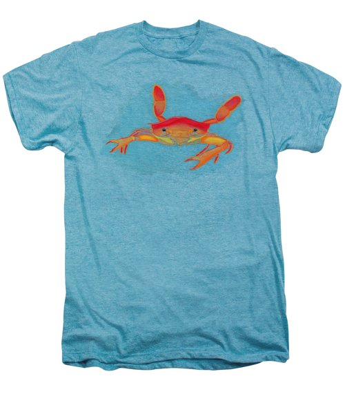 Orange Swimmer Crab Men's Premium T-Shirt