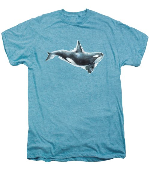 Orca Men's Premium T-Shirt by Amy Hamilton