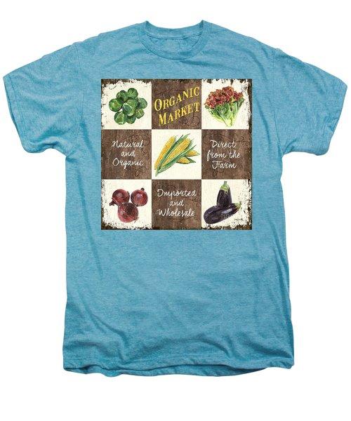 Organic Market Patch Men's Premium T-Shirt by Debbie DeWitt