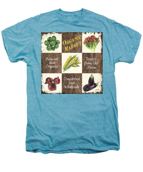 Organic Market Patch Men's Premium T-Shirt