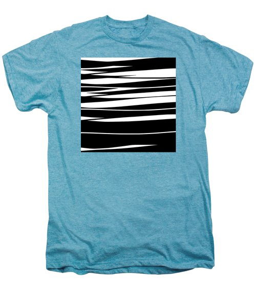 Organic No 9 Black And White Men's Premium T-Shirt