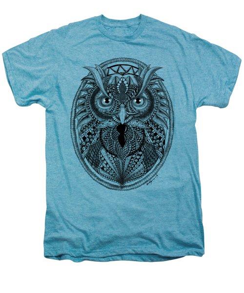 Ornate Owl Men's Premium T-Shirt