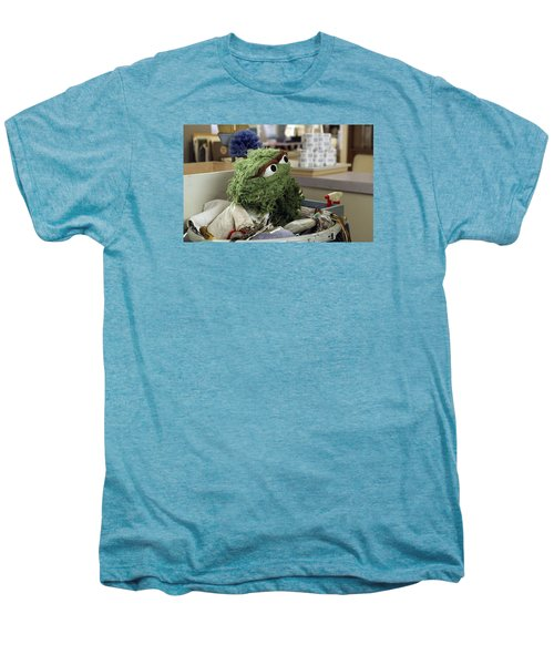 Oscar The Grouch Men's Premium T-Shirt