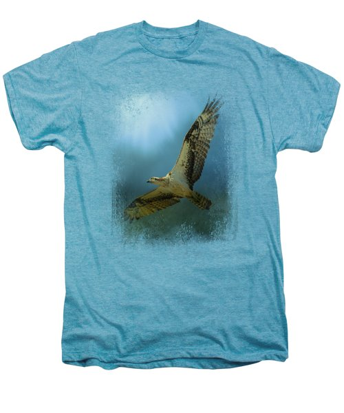 Osprey In The Evening Light Men's Premium T-Shirt by Jai Johnson