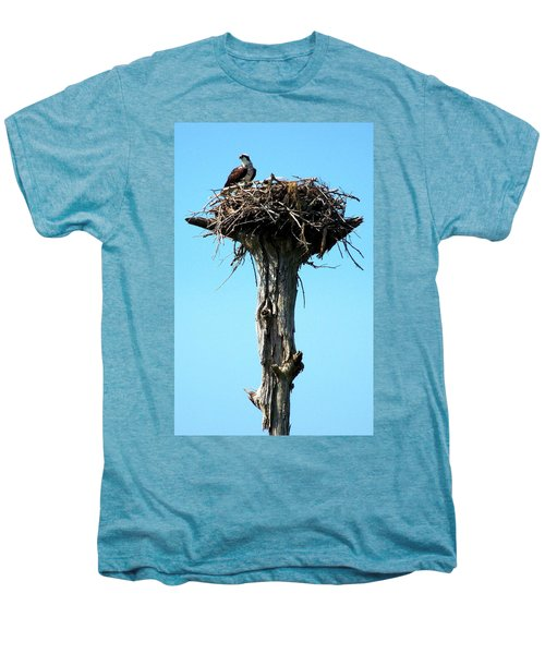 Osprey Point Men's Premium T-Shirt by Karen Wiles