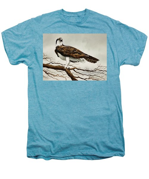 Osprey Sea Hawk Men's Premium T-Shirt by James Williamson