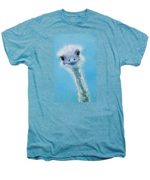 Ostrich Painting Men's Premium T-Shirt