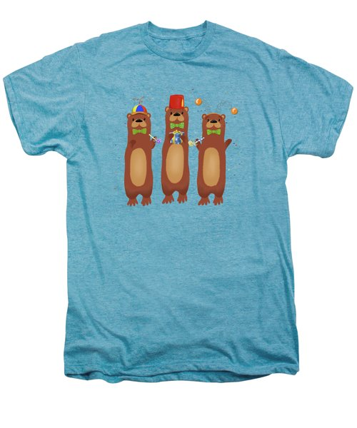 Otter Party And You Are Invited Men's Premium T-Shirt by Little Bunny Sunshine