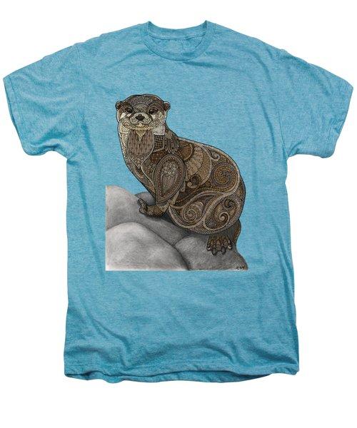 Otter Tangle Men's Premium T-Shirt by ZH Field