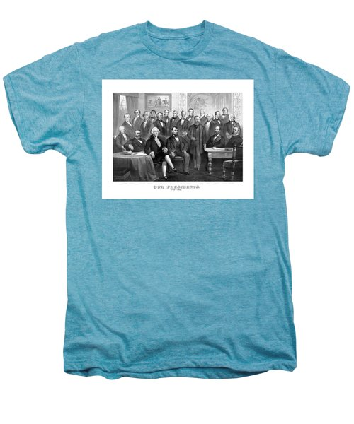 Our Presidents 1789-1881 Men's Premium T-Shirt by War Is Hell Store