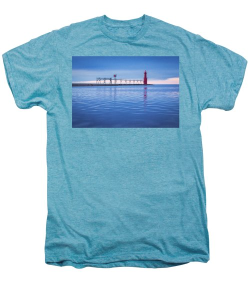 Men's Premium T-Shirt featuring the photograph Out Of The Blue by Bill Pevlor