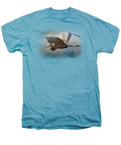 Over Ocean Skies Men's Premium T-Shirt by Jai Johnson
