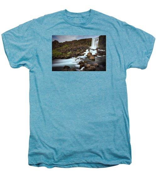 Oxararfoss Men's Premium T-Shirt