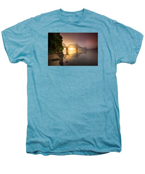 P And Le Ohio River Railroad Bridge Men's Premium T-Shirt