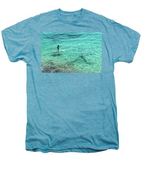 Paddle The Aqua Sea Men's Premium T-Shirt