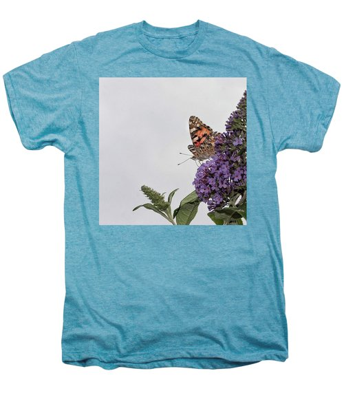 Painted Lady (vanessa Cardui) Men's Premium T-Shirt