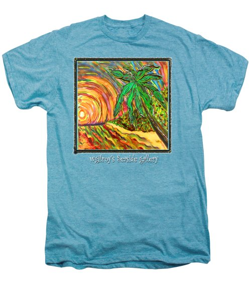 Palm Sunrise Sunset Men's Premium T-Shirt