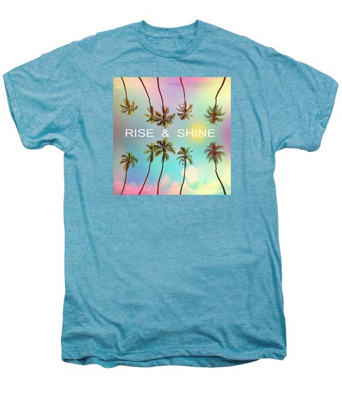 Palm Trees Men's Premium T-Shirt by Mark Ashkenazi